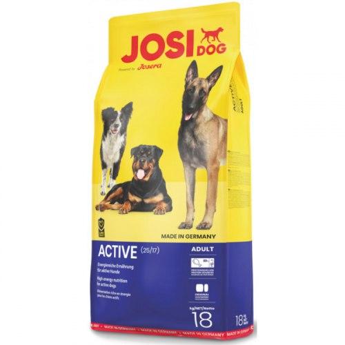 Сухой корм JosiDog Active (25/17) 18 кг