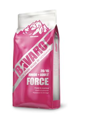 Сухой корм Josera Bavaro Force (Junior/Adult 28/16) 18 кг