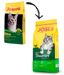 Сухой корм JosiCat Cruchy Poultry 18 кг