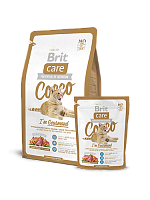Сухой корм В НАЛИЧИИ Брит Care Cat Cocco Gourmand 0,4 кг