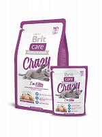 Сухой корм В НАЛИЧИИ Брит Care Cat Crazy Kitten 0,4 кг