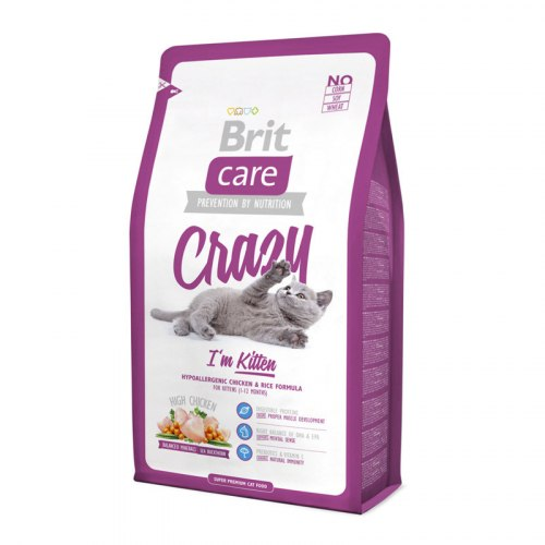 Сухой корм Брит Care Cat Crazy Kitten 2 кг