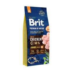 Сухой корм Брит Premium by Nature Junior M 15 кг