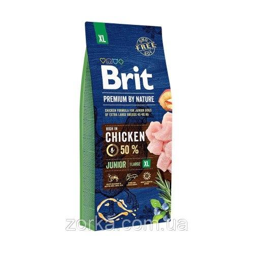 Сухой корм Брит Premium by Nature Junior XL 15 кг