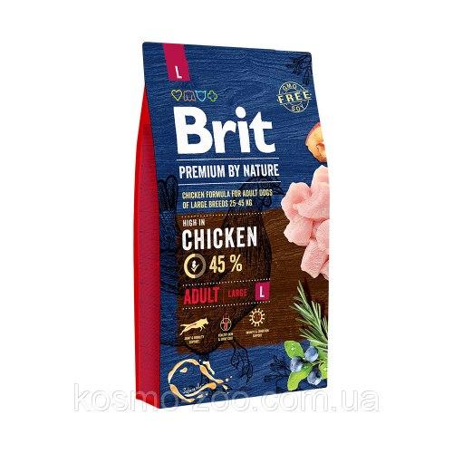 Сухой корм Брит Premium by Nature Senior L+XL 15 кг