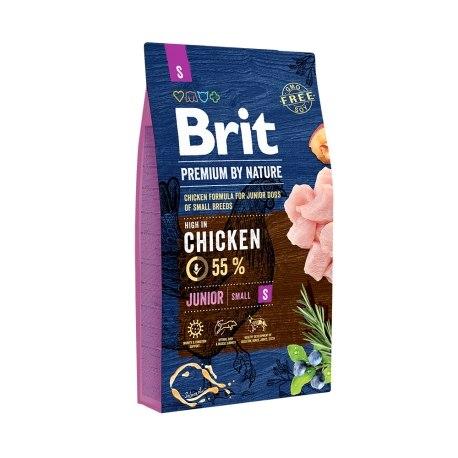 Сухой корм Брит Premium by Nature Junior S 8 кг
