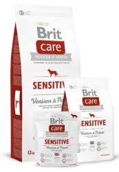 Сухой корм Брит Care Dog Sensitive (Venison) 1кг