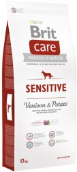 Сухой корм В НАЛИЧИИ Брит Care Dog Sensitive (Venison) 12кг