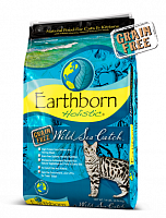Сухой корм EARTHBORN HOLISTIC CAT WILD SEA CATCH GRAIN - FREE 6.3 kg