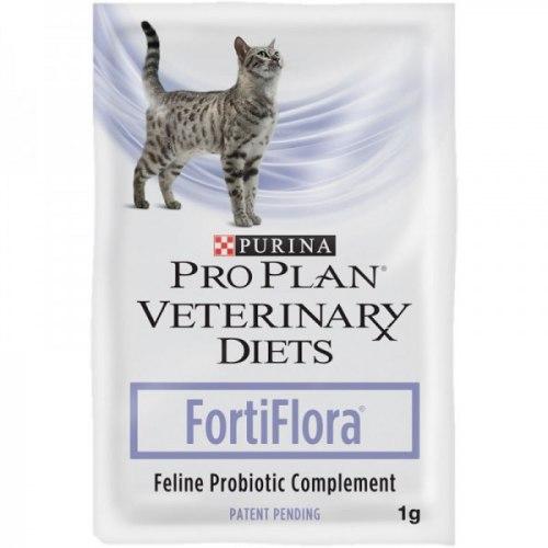 Корм добавка В НАЛИЧИИ Pro Plan Forti Flora для нормализации ЖКТ кошек и котят, 1г