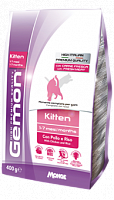 Сухой корм Gemon Cat Kitten PFB 34/15 корм для котят 400 г