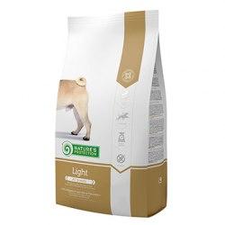Сухой корм Nature's Protection Adult Light, для взрослых собак всех пород с меньшим содержанием калорий 12 кг.