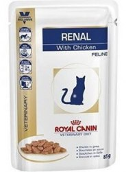 Консерва Royal Canin RENAL FELINE CHICKEN 1шт/85г