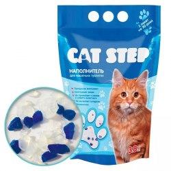 Наполнитель В НАЛИЧИИ Cat Step силикагелевый впитывающий 7,6л