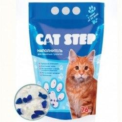 Наполнитель В НАЛИЧИИ Cat Step силикагелевый впитывающий 3,8л