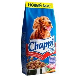 Сухой корм Chappi 15кг с говядиной по-домашнему для взрослых собак всех пород