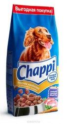 Сухой корм Chappi 15 кг Мясное изобилие для взрослых собак всех пород