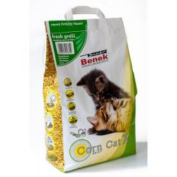 Наполнитель В НАЛИЧИИ S.Benek Corn Cat кукурузный комкующийся, 7л