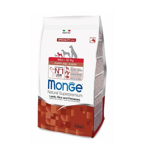 Сухой корм Monge MINI PUPPY LAMB/RICE 2,5 кг