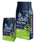 Сухой корм Monge Dog BWILD Wild Boar 7,5кг