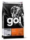 Сухой корм GO Sensitivity + Shine Salmon Dog Recipe 22/12 2,72 кг