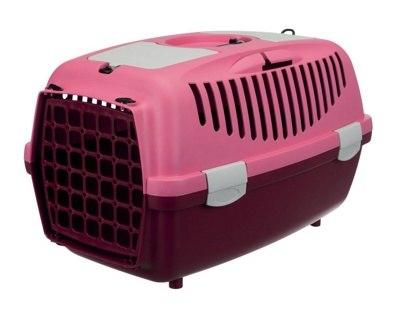 Переноска В НАЛИЧИИ TRIXIE Traveller Capri III для мелких животных до 6кг, 32*31*48см, ягодный/розовый