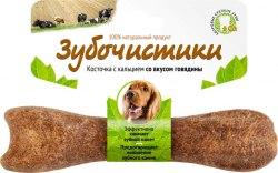 Зубочистики Деревенские лакомства для собак средних пород со вкусом говядины, 95г