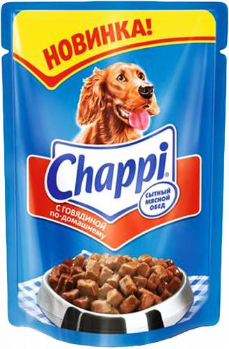 Консерва В НАЛИЧИИ Chappi говядина по-домашнему, 100г