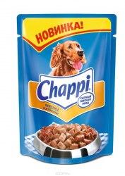 Консерва В НАЛИЧИИ Chappi мясное изобилие, 100г