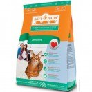 Сухой корм Клуб 4 Лапы 3 кг д/взр кошек с чувствительным пищеварением