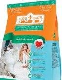 Сухой корм Клуб 4 Лапы 3 кг д/взр кошек мясные крокеты с эффектом выведения шерсти