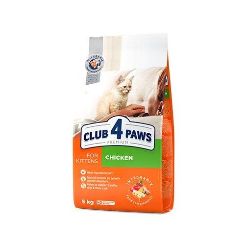 Сухой корм НА РАЗВЕС Клуб 4 Лапы для котят, с курицей 0,5 кг