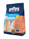 Сухой корм Клуб 4 Лапы для взрослых собак с мясом ягненка и рисом (гиппоаллергенный) 3 кг