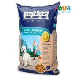 Сухой корм НА РАЗВЕС Клуб 4 Лапы для взр собак мелких пород с ягненком, 0,5 кг