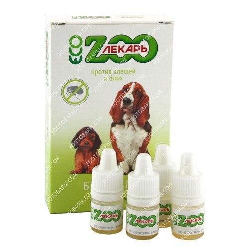 Биокапли В НАЛИЧИИ ЭкоЗоолекарь для собак на холку антипаразитарные, 1пип