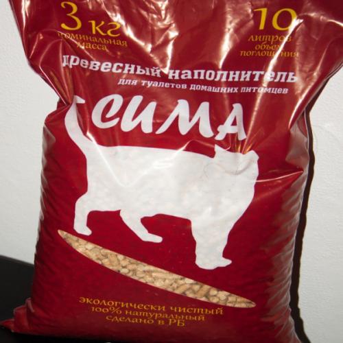 Наполнитель В НАЛИЧИИ СИМА древесный 3 кг