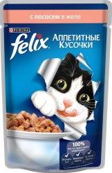 Консерва В НАЛИЧИИ Felix с лососем в желе, 85г