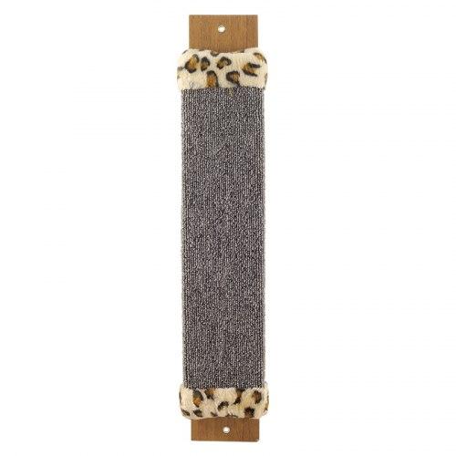 Когтеточка В НАЛИЧИИ Triol из ковролина, с оторочкой из меха, 100*30*530мм