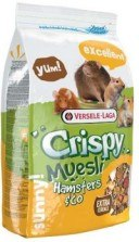 Корм В НАЛИЧИИ Crispy Muesli Hamsters & Co, для хомяков и других грызунов, 0.5 кг