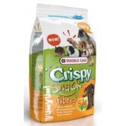 Корм В НАЛИЧИИ Crispy Snack fibres, смешанный корм для грызунов с овощами, 650г