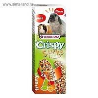 Палочки-лакомства В НАЛИЧИИ Crispy для кроликов и морских свинок с с фруктами, 110г