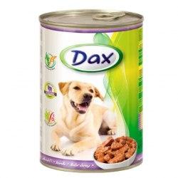 Консерва В НАЛИЧИИ Dax для собак с ягненком, 1250г