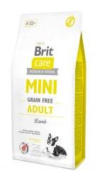 Сухой корм Брит 7 кг Care MINI GF Adult Lamb