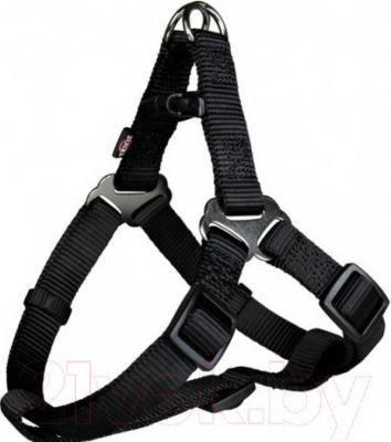 Шлея В НАЛИЧИИ TRIXIE для собак Premium Harness L, 65-80 см/25 мм, черная