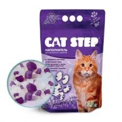 Наполнитель Cat Step силикагелевый 3,8л, лаванда