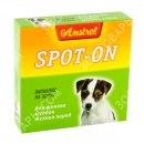 Биокапли В НАЛИЧИИ Amstrel Spot-on для щенков и собак мелких пород, 1шт/2мл