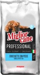 Сухой корм Miglior cane Proffesional с рыбой, 15 кг