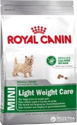 Сухой корм Royal Canin MINI Light Weing Care 2кг