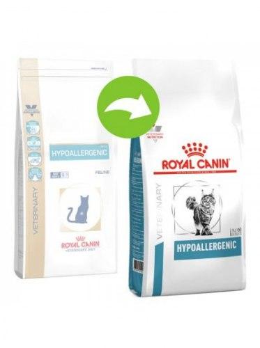Сухой корм В НАЛИЧИИ Royal Canin HYPOALLERGENIC FELINE - 0,4 кг