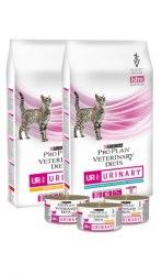 Сухой корм PPVD UR St/Ox взр. кошек при болезнях ниж. отд. мочевыв путей, с курицей, 350г